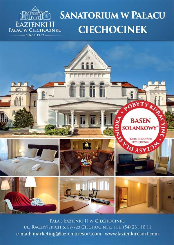 Sanatorium Pałac Łazienki II - pakiety pobytowe