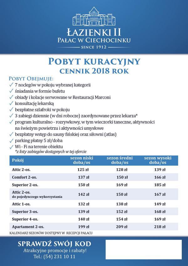 Sanatorium Pałac Łazienki II - Pakiet Po Zdrowie