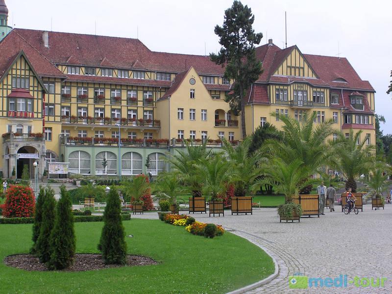 Sanatorium Polonia w Uzdrowisku Kudowa