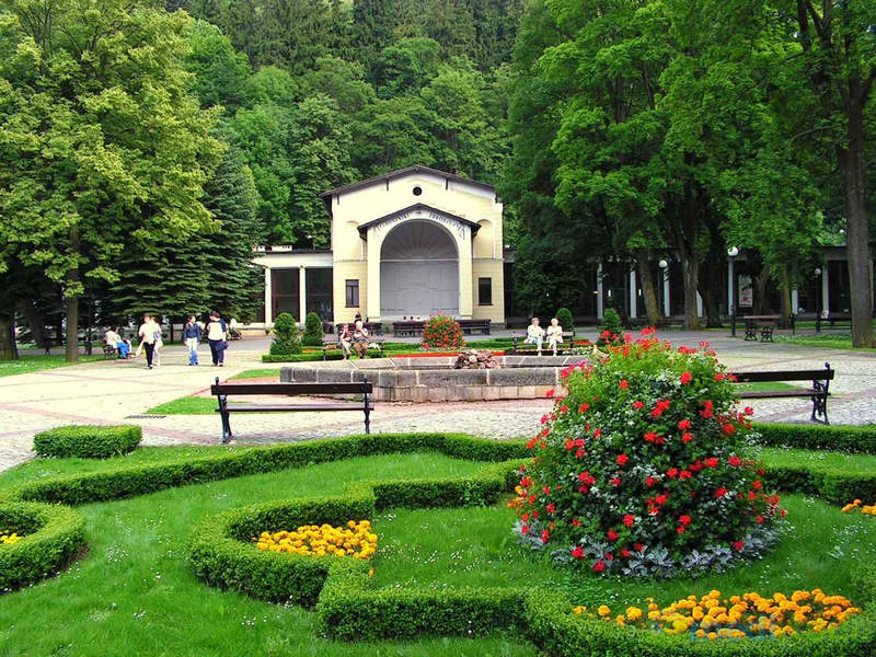 Park Zdrojowy w Dusznikach-Zdroju