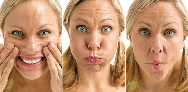 Ćwiczenia(joga) twarzy na zmarszczki