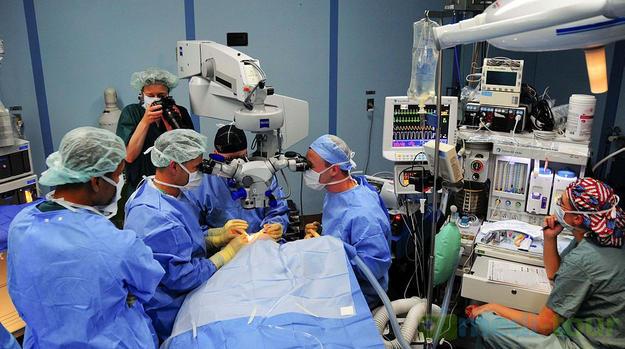 Operacja laserowej korekcji wzroku