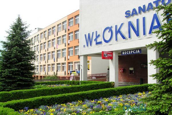 Sanatorium Włókniarz w Busko-Zdroju