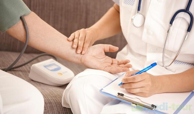 Badanie ciśnienia i tętna - tachykardia