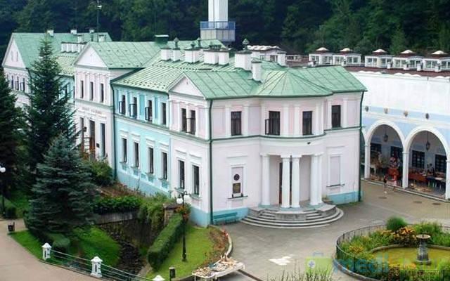 Sanatorium Stare Łazienki w Uzdrowisku Iwonicz