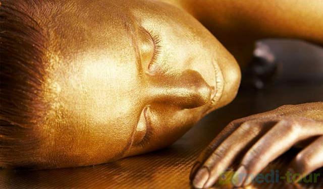 Złota maska - zabieg