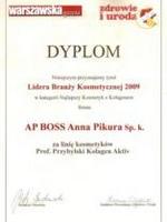Dyplom Lidera Branży Kosmetycznej 2009 w kategorii