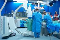 Przygotowania do zabiegu kardiochirurgicznego w Polsko-Amerykańskich-Klinikach-Serca.