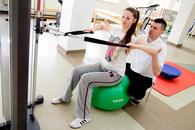 Ćwiczenia w Centrum Rehabilitacyjno-Medycznym REH-MEDIQ.