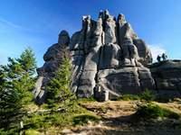 Góry Karkonosze w dolnosląskim