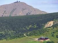 Najwyższy szczyt Karkonoszy - Śnieżka