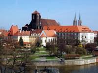 Ostrów Tumski - zabytkowa część Wrocławia